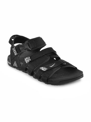 Nike Men Black Air Deschutz Sandals