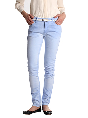 Jealous 21 Women Blue Magic Colour Jeans
