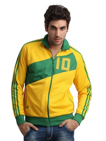 Adidas Men Yellow Kaka Jacket