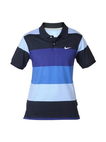 Nike Men Club Jersey Blue T-shirt