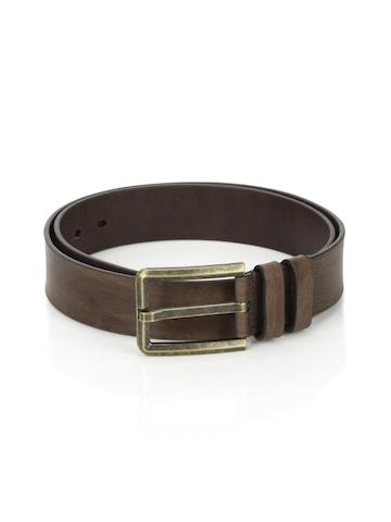 Wills Lifestyle Men Leather Brown Belt