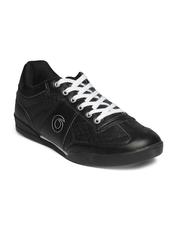 Globalite Men Black Sparta Shoes