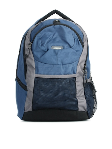 American Tourister Unisex Blue Backpack