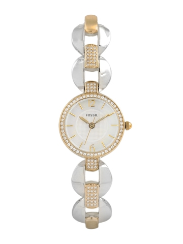 FOSSIL Women White Dial Watch ES3018