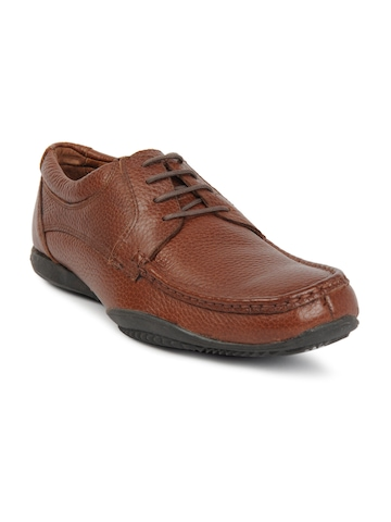 Hush Puppies Men Falcon Brown Formal Shoes