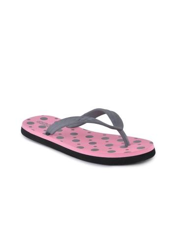Adidas Women Polka Pink Flip Flops
