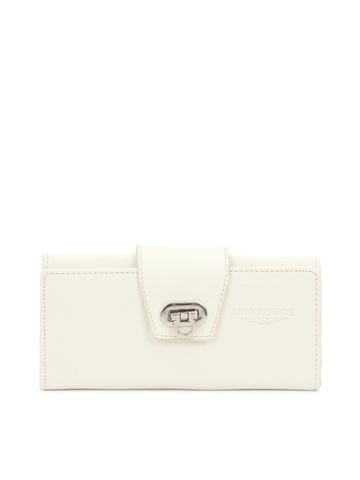 Lino Perros Women White Wallet