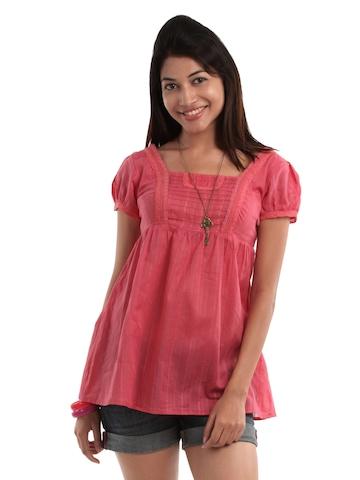 Remanika Women Pink Tunic