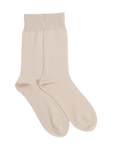 Reid & Taylor Men Bright Assorted Cream Socks