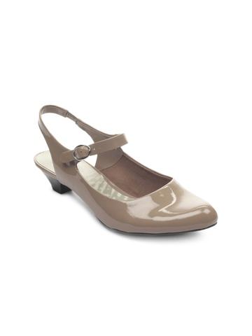 Clarks Women Taupe Heels