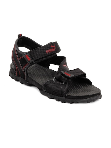 Puma Men Black Apex Sandals
