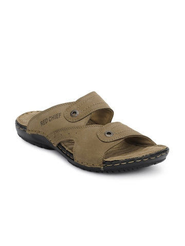 Red Chief Men Brown Sandals