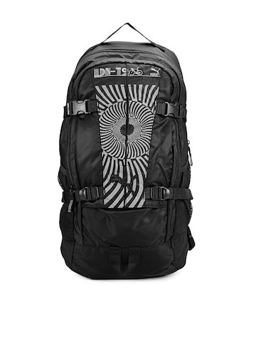 Puma Unisex Black Grit Backpack
