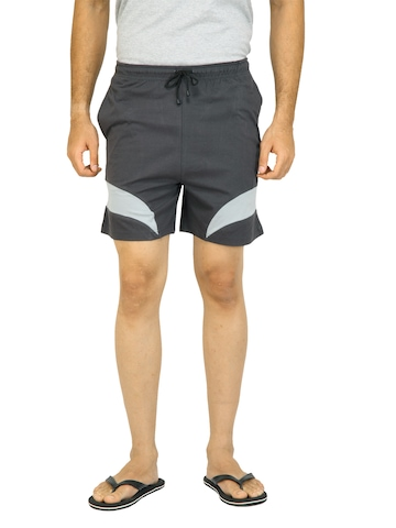 Crusoe Men Sport Dark Grey Shorts