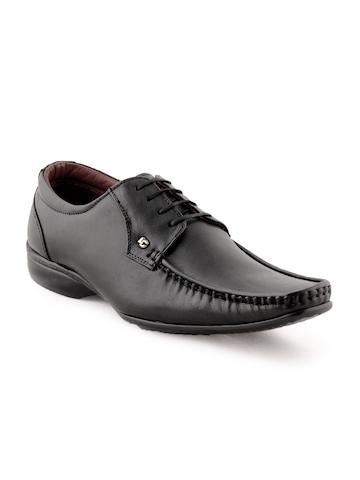 Lee Cooper Men Formal Black Shoes