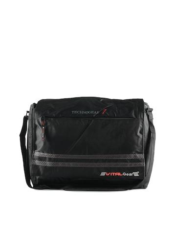 Vital Gear Unisex Black Laptop Bag