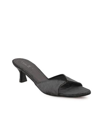 Inc 5 Women Casual Black Heels