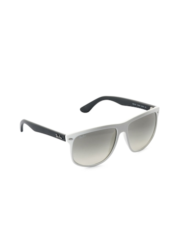 Ray-Ban Men High Street White Sunglasses