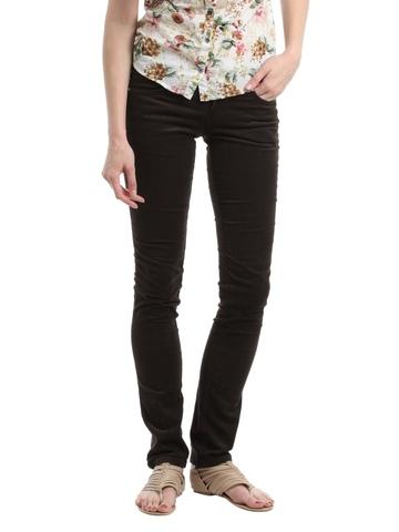 Kraus Jeans Women Brown Trousers