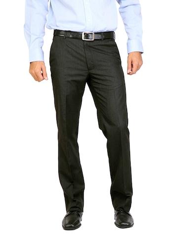 Arrow Men Autoflex Black Trousers