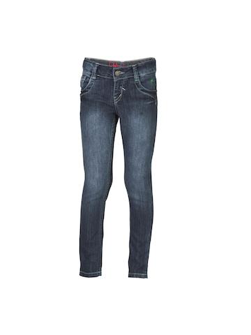 Gini and Jony Woven Navy Blue Jeans