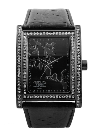 Q&Q Women Black Watch