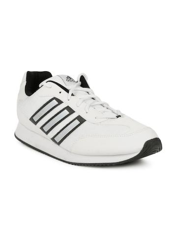 Adidas Men White Pluto Sports Shoes