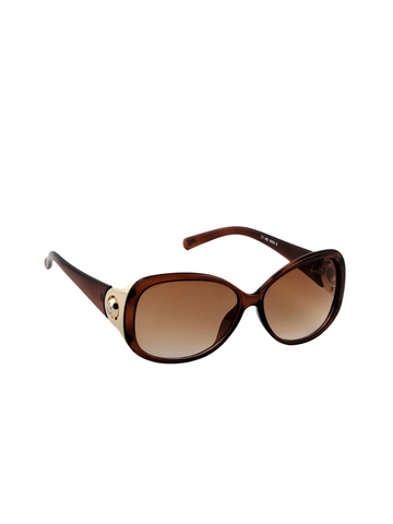 Miami Blues Women Brown Sunglasses