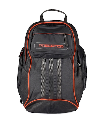 Adidas Unisex Black Predator Backpack