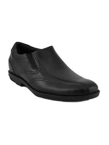 Rockport Men Drsp Slip On Black Formal Shoes