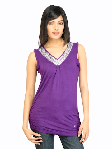 Arrow Woman Victoria Purple Top