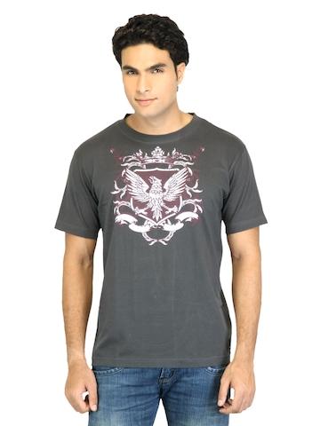 Facit Men Smart  Charcoal Tshirt
