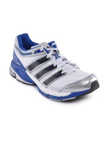 Adidas Men White Resp Cushion Sports Shoes