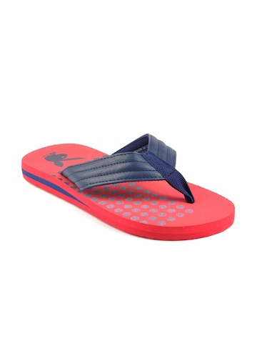 Playboy Men Red Flip Flops