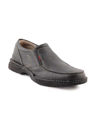 Lee Cooper Men Casual Black Shoes