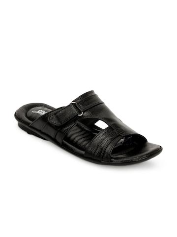 Coolers Men Black Sandals