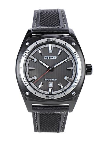 Citizen Men Black Dial Eco-Drive Watch AW1050-01E