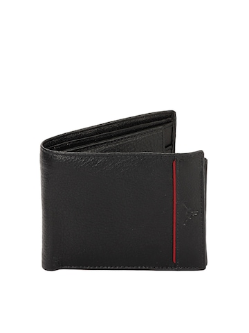 Hidekraft Men Black Wallet