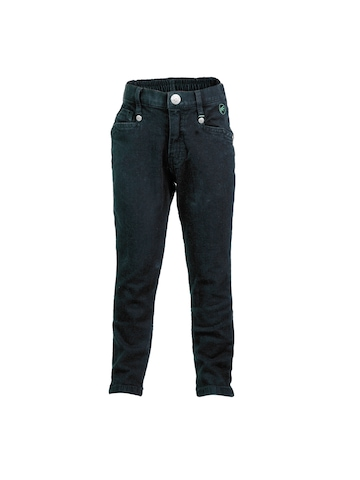 Gini and Jony  Girls Woven Black Jeans
