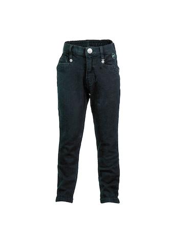 Gini and Jony  Girls Woven Black Jeans