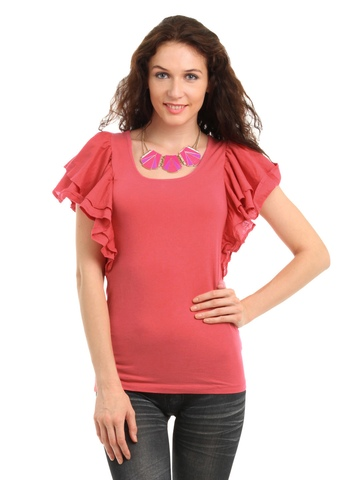 French Connection Women Coral Top
