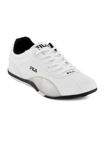 Fila Men Syncro White Shoes
