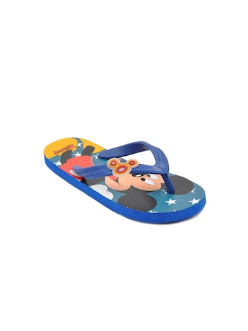 Disney Unisex Kids Mickey Star Blue Flip Flops