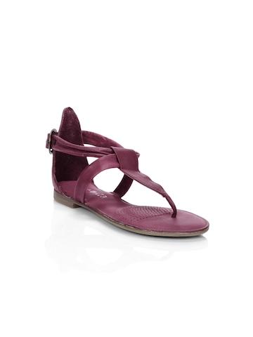 Enroute Teens Purple Sandals