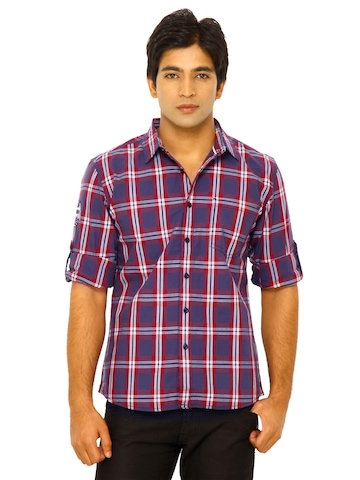 Wrangler Men Country Eagle Red Shirt