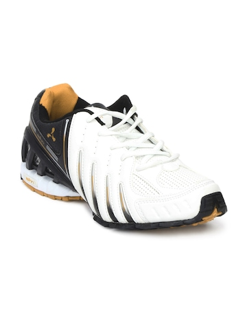 Spinn Men Viking White Casual Shoes