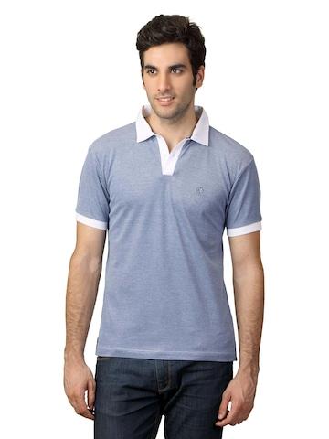 Arrow New York Men Light Blue T-shirt