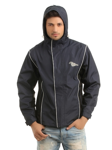 Just Natural Unisex Navy Blue Jacket