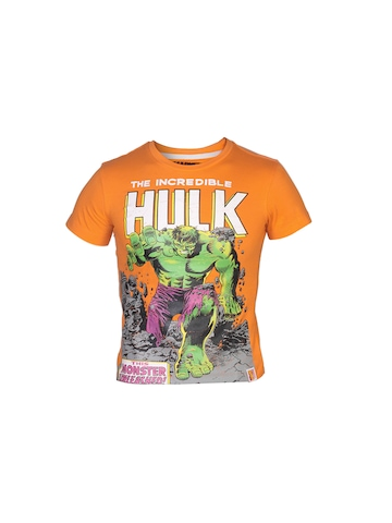 Marvel Boys Comics Orange T-shirt