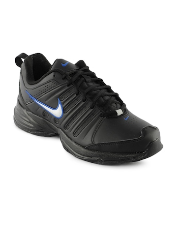 Nike Men T-Lite Black Sports Shoes